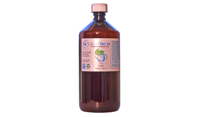 250ml of 14ppm Premium Quality Silver Tec Colloidal Silver Spray Safe for  pets